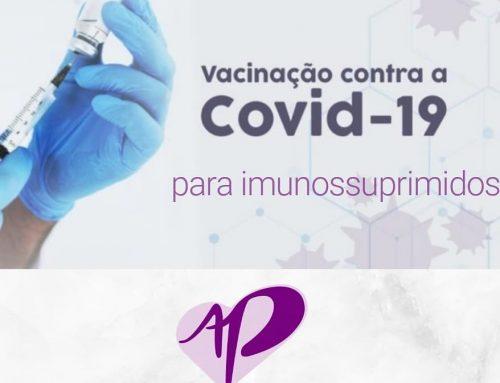 VACINAÇÃO COVID PARA IMUNOSSUPRIMIDOS