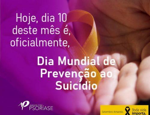 10 DE SETEMBRO, DIA MUNDIAL DE PREVENÇÃO AO SUICÍDIO